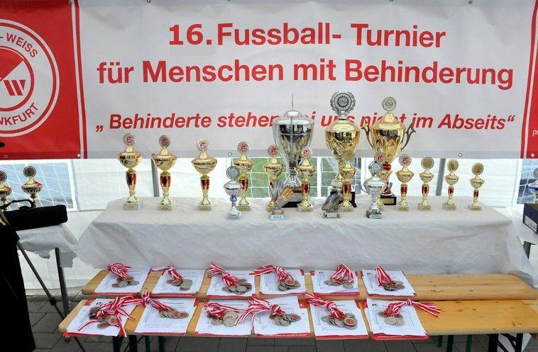 16. Auflage des Fußballturniers für Menschen mit Handicap
