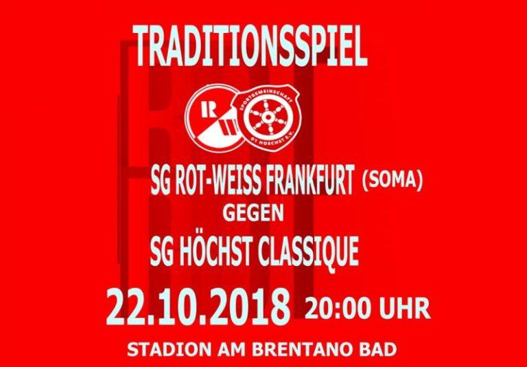 SOMA: Rot-Weiss gegen SG Hoechst Classique