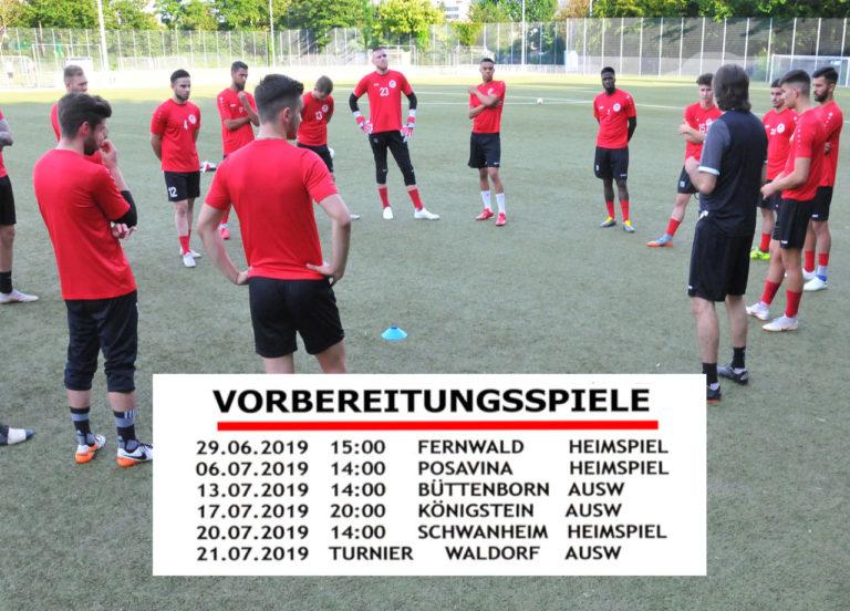 Rot-Weiss Frankfurt: Herren starten in die Vorbereitung für die Verbandsliga