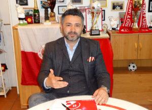 SG Rot-Weiss Frankfurt Präsident Ersan Dincer im Interview