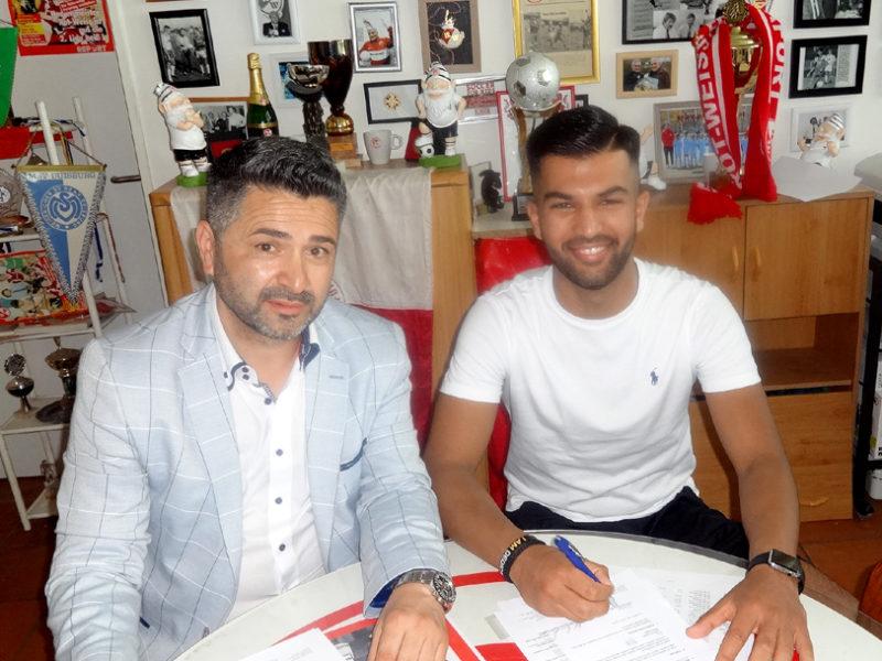Khaiss spielt seit 5 Jahren bei Rot-Weiss Frankfurt