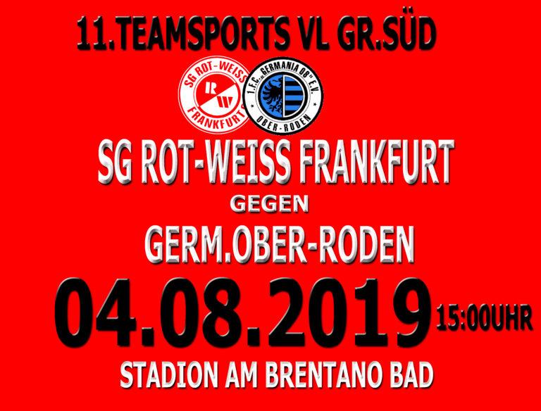 11Teamsports Verbandsliga Süd: Heimspiel zum Saisonauftakt