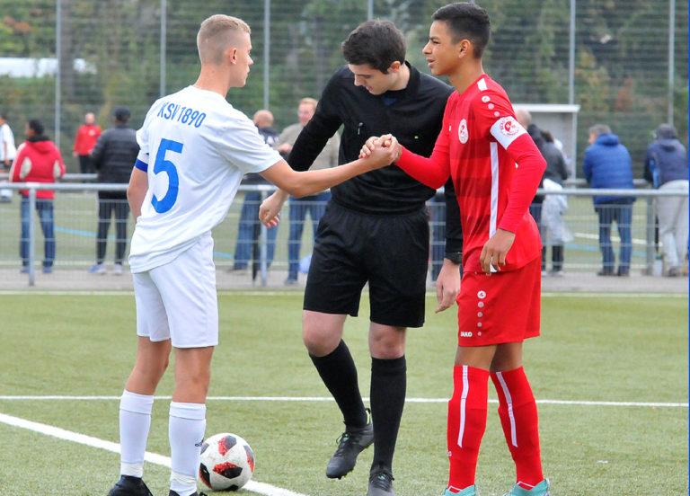 U16 Gruppenliga: Rot-Weiss gewinnt Heimspiel gegen Klein Karben verdient.
