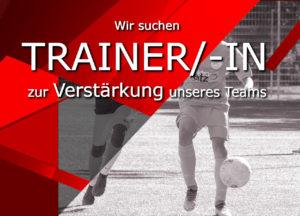 Trainer/in gesucht! Für den Juniorenbereich suchen wir noch qualifizierte Trainer/innen für unsere Teams!