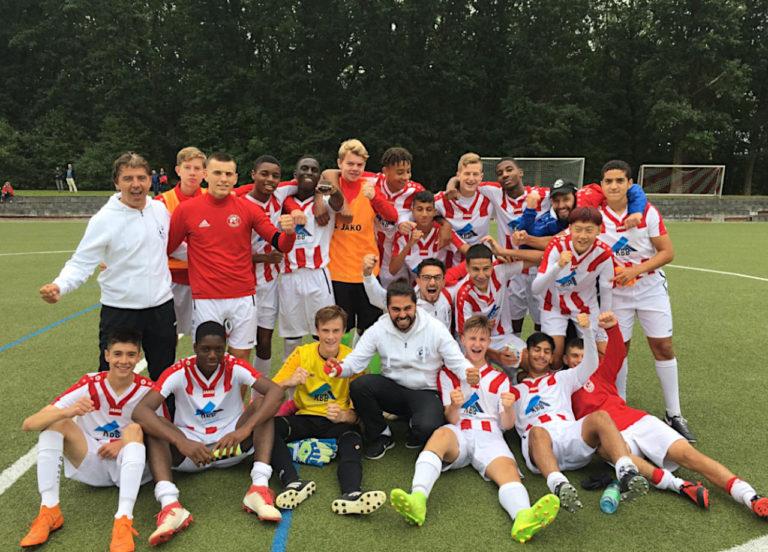U17 Hessenliga: Rot-Weiss siegt Auswärts und klettert auf Tabellenplatz vier