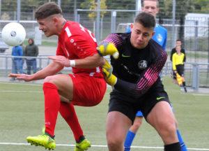 U19 Hessenliga: Rot-Weiss mit knapper Niederlage
