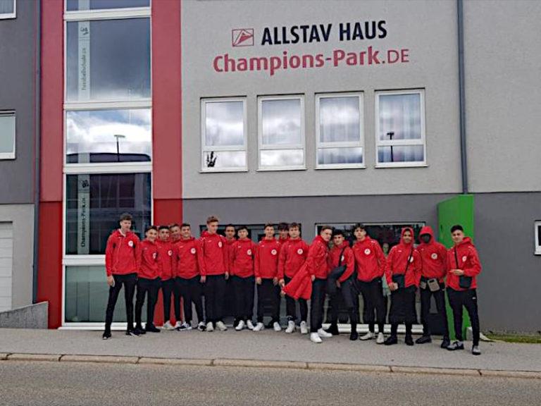 U16 verbringt 4 überragende Tage im Trainingslager in Freudenstadt!