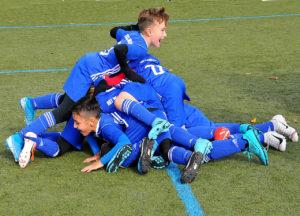 U9: Souveräner Sieg gegen Blau-Gelb Frankfurt