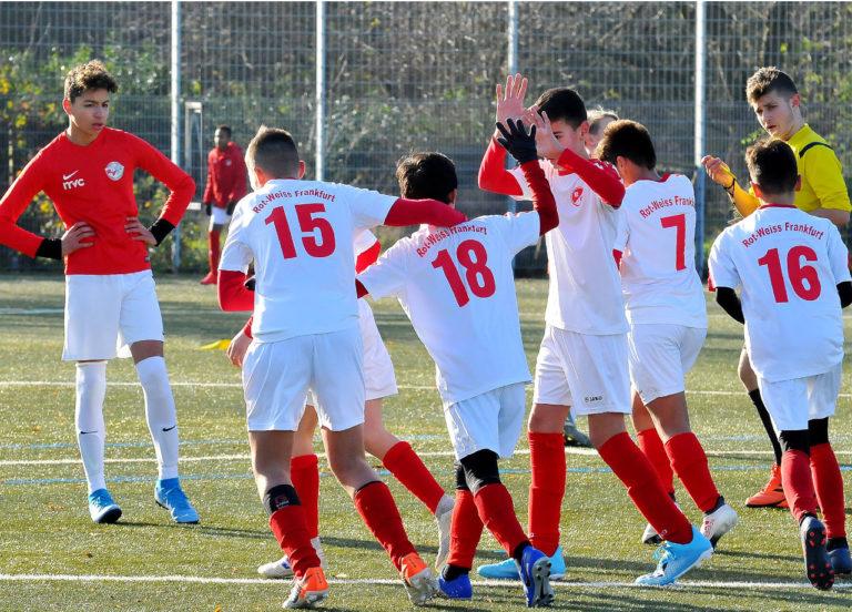 U13 spielt unentschieden im letzten Spiel des Jahres