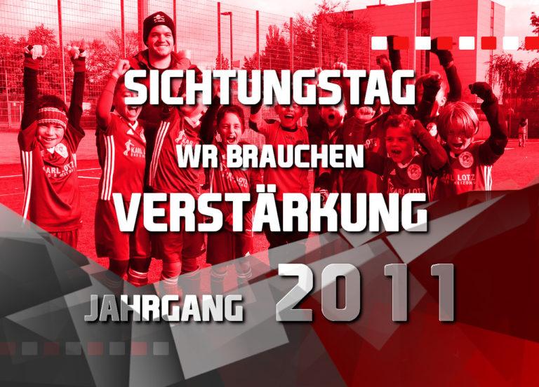 Rot-Weiss Frankfurt veranstaltet am 21.01.2020 um 16.00 Uhr eine Talentsichtung für den Jahrgang 2011