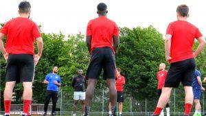 Rot-Weiss startet mit neuem Trainerteam in die Saison 2020/21