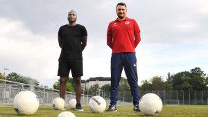 Zwei neue Gesichter im Trainerstab