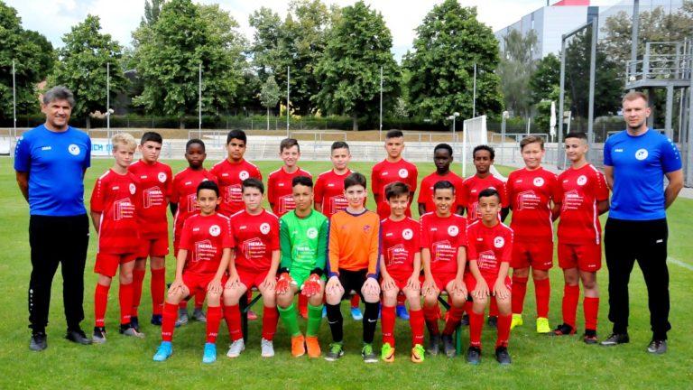 U13 mit souveränen Auftritt bei Hessen Dreieich
