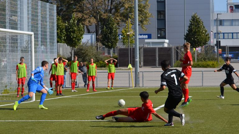 RW Frankfurt U17 – RW Darmstadt 4:1 (2:1)