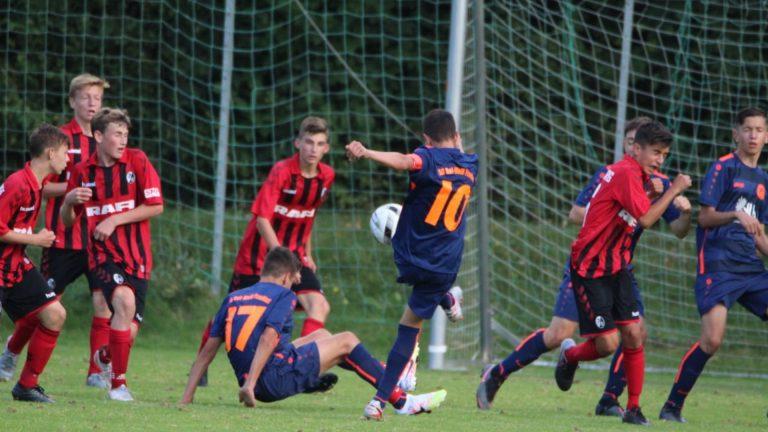 U15: Auswärts-Niederlage in der Regionalliga Süd gegen SC Freiburg