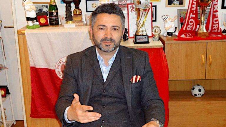 Rot-Weiss-Präsident Ersan Dincer im Interview mit dem Online Magazin sportflash.online