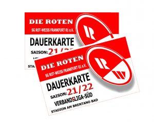 Dauerkarten für die Saison 21/22 ab sofort erhältlich