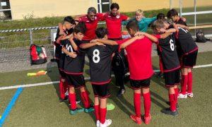 U13: Dritter Sieg im dritten Spiel