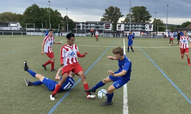 U17 feiert Kantersieg: VfB Marburg – Rot-Weiss Frankfurt 1:7