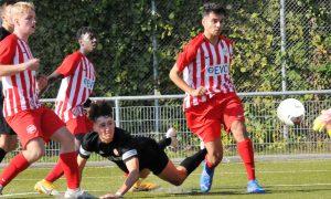U17: Remis im Rivalenduell: Rot-Weiss Frankfurt – Kickers Offenbach 0:0